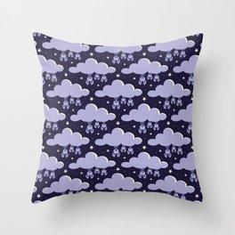 Dreaming bats Throw Pillow