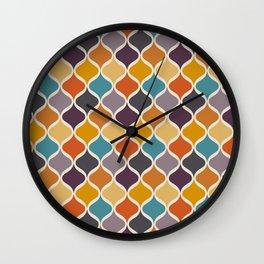 Moroccan Fall 2 Wall Clock