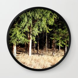Germany Forest 1 Wall Clock