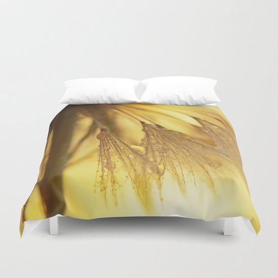 Dandelion Light Duvet Cover