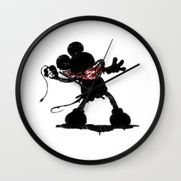 Revolted Wall Clock