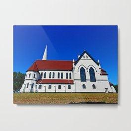 St. Mary's Church side view Metal Print