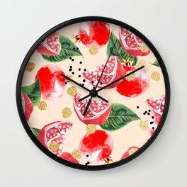 Sweet Pom #society6 #decor #buyart Wall Clock