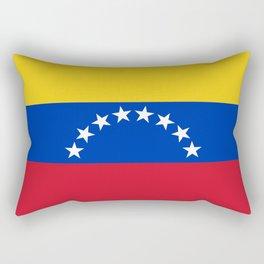 flag of venezuela Rectangular Pillow