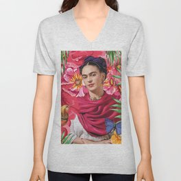 Forever Frida Kahlo Unisex V-Neck