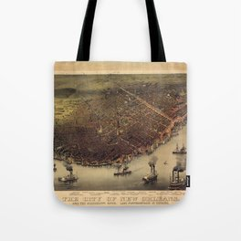 New Orleans 1885 Tote Bag