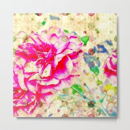 Floral theme [spring bollywood) Metal Print