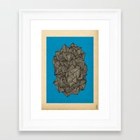 boat Framed Art Prints featuring - boat - by Magdalla Del Fresto