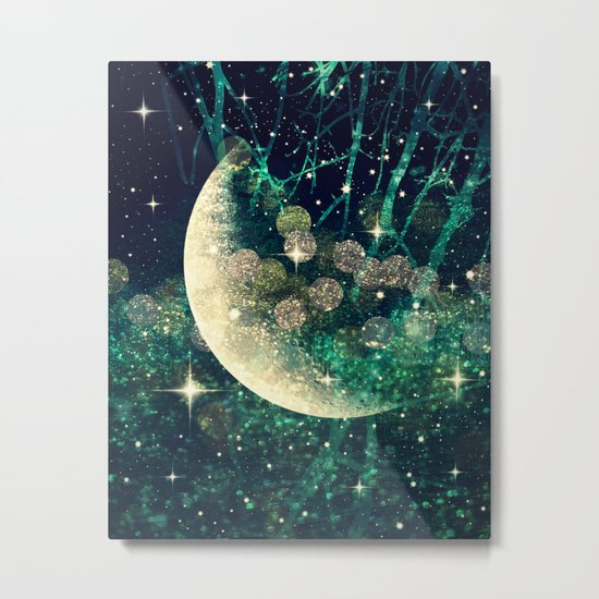 Moon Dust Metal Print