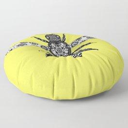 Flowers to Honey  Floor Pillow