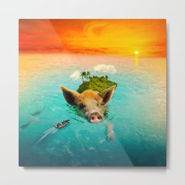Hogwash Metal Print