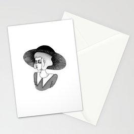 spooky girl Stationery Cards