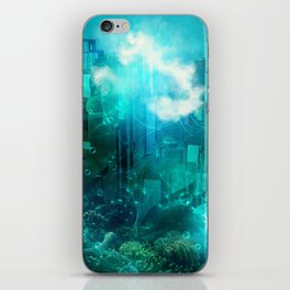 Underwater world iPhone Skin