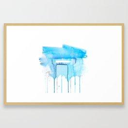 In Two Framed Art Print