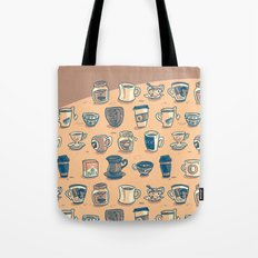 Coffee & Tea & Butts Tote Bag