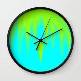 Falling sky abstract Wall Clock