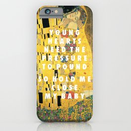 Don't Kiss iPhone Case