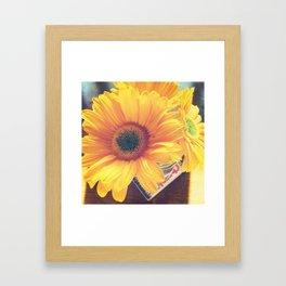 Day Brightener Framed Art Print