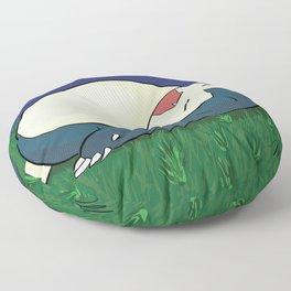 Snorlax Sleeping Floor Pillow