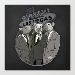 Rat Pack Canvas Print