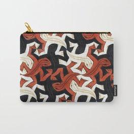 Escher lizard Carry-All Pouch