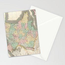 Vintage Map of France (1814) Stationery Cards