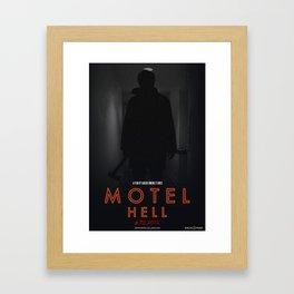 Motel Hell 2012 Hallway 1 Framed Art Print