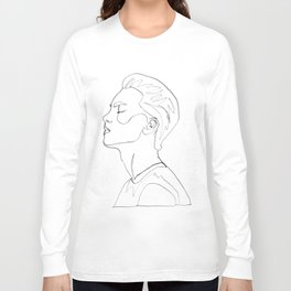 side portrait  Long Sleeve T-shirt
