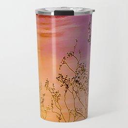 Joshua Tree Curtain of Shrubbery Travel Mug