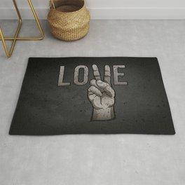 Peace Love Rug