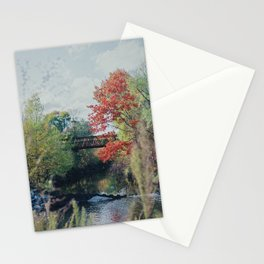 Valley at School Stationery Cards