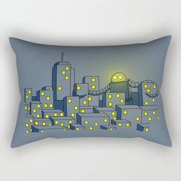 Giant Robot Rectangular Pillow