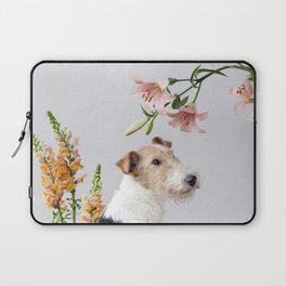 My baby sent me flowers Laptop Sleeve