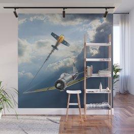 Reisen (Zero Fighter) flown by sub-Lt. Saburo Sakai Wall Mural