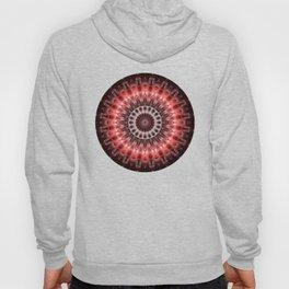 Mandala red Energy Hoody