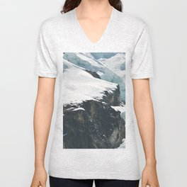 Climate change is as close as you can see Unisex V-Neck