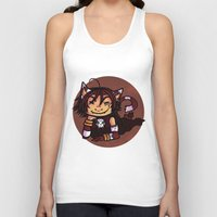 chess Tank Tops featuring chess madness by elfi1991