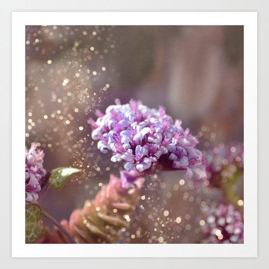 Pastel vibes floral IV Art Print