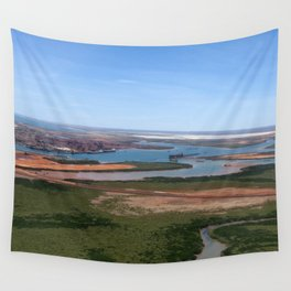 Port Hedland Arial  Wall Tapestry