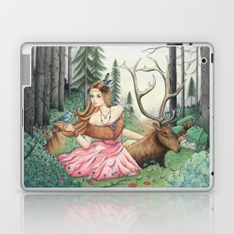 The Queen of the forest Laptop & iPad Skin