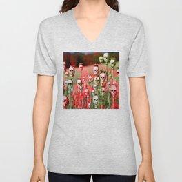 papi flower Unisex V-Neck