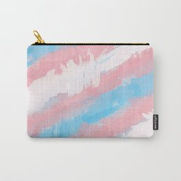 Trans Watercolor Pride Carry-All Pouch