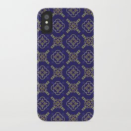 Royal [abstract pattern B] iPhone Case