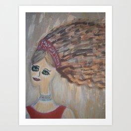 "Mermaids, ""Melvina"" Art Print"