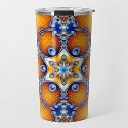 Ocean Life Mandala Travel Mug