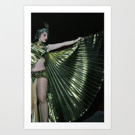 Burlesque Arabesque Art Print