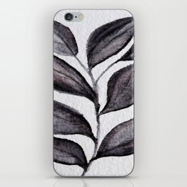 Midnight Leaves iPhone Skin