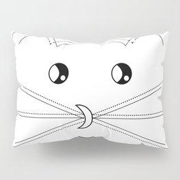 Minimalist Cat Pillow Sham