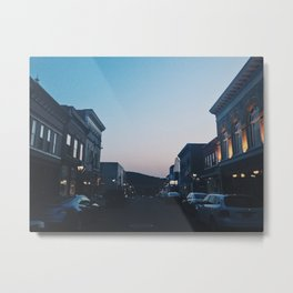 Bank Street Metal Print