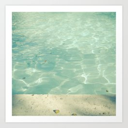 Morning Swim Art Print